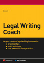 Book Cover: Legal Writing Coach by Chris Jensen